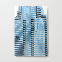 BLUE CHICAGO Metal Print