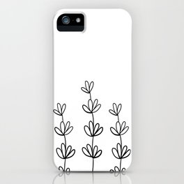Lavander iPhone Case