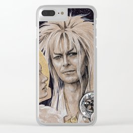 """""""And I have done it all for you"""" Clear iPhone Case"""