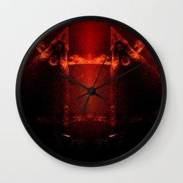 Sacred Fire Wall Clock