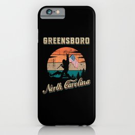 Greensboro North Carolina iPhone Case