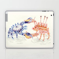 Crabby Fight Laptop & iPad Skin