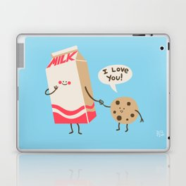 Cookie Loves Milk Laptop & iPad Skin