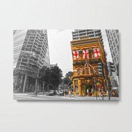 London Pub Metal Print