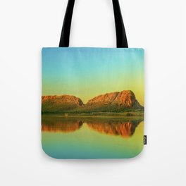 Reflections of Elephant Rock Tote Bag