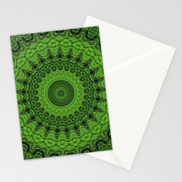 Regardlossly Plaid Mandala 1 Stationery Cards
