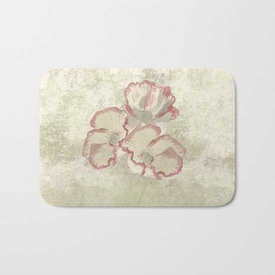 The temple bell stops but I still hear the sound coming out of the flowers. Bath Mat