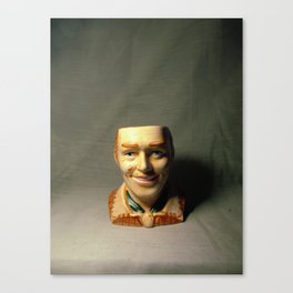 Salt Shaker Lobotomy Man Canvas Print