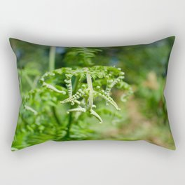 fern in the woods,  Azores Rectangular Pillow