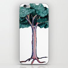 Spiral Tree iPhone & iPod Skin