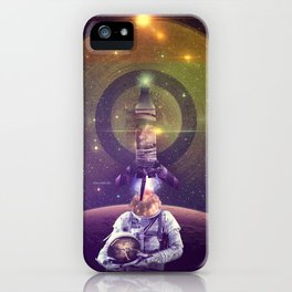 Rocketman iPhone Case