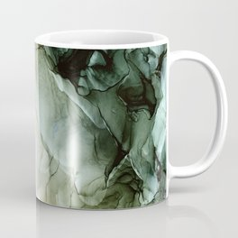 Land and Sky Abstract Landscape Painting Coffee Mug