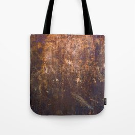 Rust. Fashion Textures Tote Bag