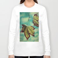 neverland Long Sleeve T-shirts featuring Fall in Neverland by Honey Malek