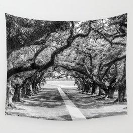Louisiana Path Through the Oaks Wall Tapestry