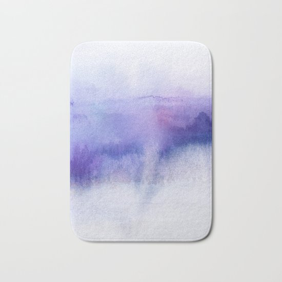 Subtle Horizon Bath Mat