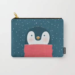 Christmas penguin Carry-All Pouch