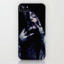 Tendrils - Emotive Self Portrait - long hair woman sensual iPhone Case