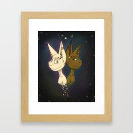 'Cross The Stars Framed Art Print