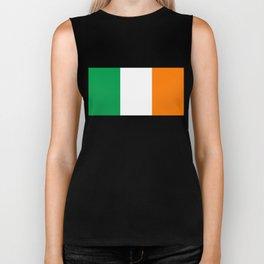 Irish national flag - Flag of the Republic of Ireland, (High Quality Authentic Version) Biker Tank