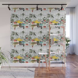 Tropical greenhouse Wall Mural