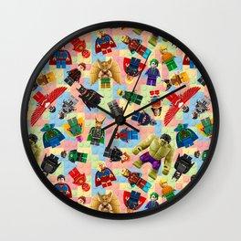 Heroes and Villains Wall Clock