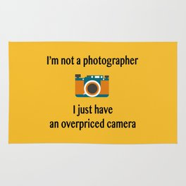 I'm not a photographer Rug