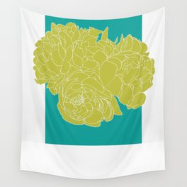 Floral Greens Wall Tapestry