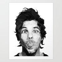 Louis Tomlinson - One Direction Art Print