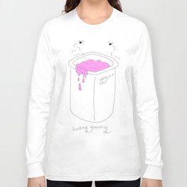 Yogurt - Fucking Yummy (Pink) Long Sleeve T-shirt