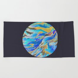 Blue Planet Beach Towel