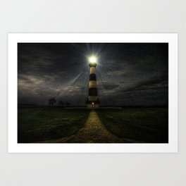 Bodie Island Lighthouse Art Print