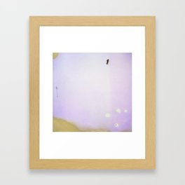 lets go skiing Framed Art Print