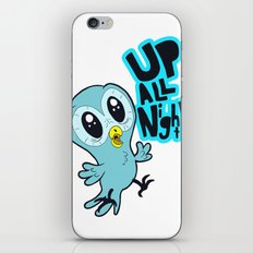 Up All Night!  iPhone & iPod Skin
