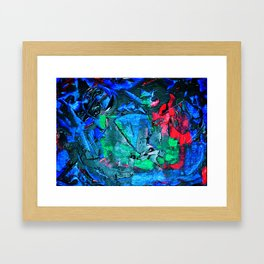 """""""You Don't Have to Yell"""" Framed Art Print"""