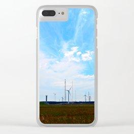 North Cape Wind Farm Clear iPhone Case