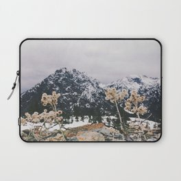 Mountains + Flowers Laptop Sleeve