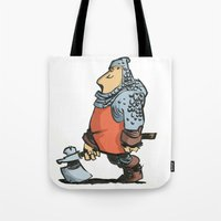 soldier Tote Bags featuring Soldier by Inigo Izal