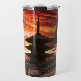 Kyoto sunset Travel Mug