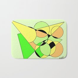 Bubbling over with Joy!                  by Kay Lipton Bath Mat