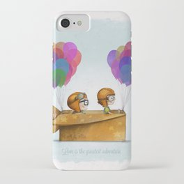 UP Pixar — Love is the greatest adventure  iPhone Case