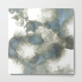 Smoke and Ice Metal Print