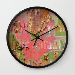 Colors of Rust _873 / ROSTart Wall Clock