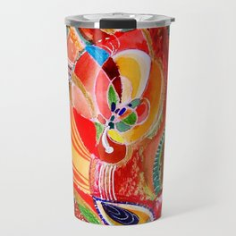 abstract #232 Travel Mug