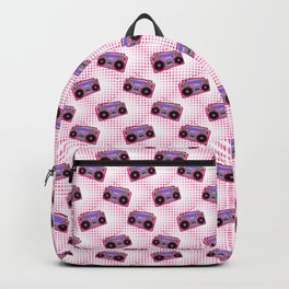 Boombox / Pink Backpack