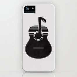 Classical Notes iPhone Case