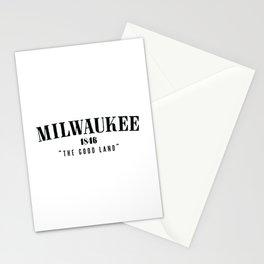 Milwaukee — The Good Land Stationery Cards