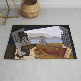 """Juan Gris """"The Open Window"""" Rug"""