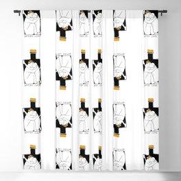Bottled love Blackout Curtain