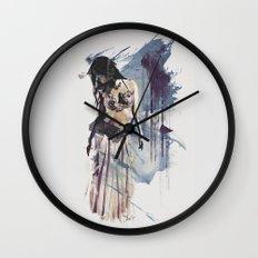 Bellydancer Abstract Wall Clock